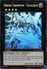 Heroic Champion - Excalibur - REDU-EN041 - Ghost Rare - Unlimited Edition