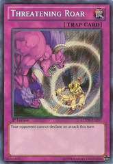 Threatening Roar - LCYW-EN297 - Secret Rare - 1st Edition
