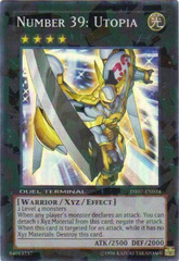 Number 39: Utopia - DT07-EN034 - Super Parallel Rare - Duel Terminal
