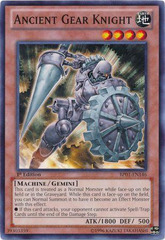 Ancient Gear Knight - BP01-EN146 - Common - Unlimited Edition on Channel Fireball
