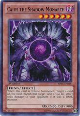 Caius the Shadow Monarch - BP01-EN018 - Rare - Unlimited Edition