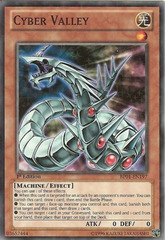 Cyber Valley - BP01-EN197 - Starfoil Rare - Unlimited Edition