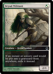 Dryad Militant (Return to Ravnica Game Day) on Channel Fireball