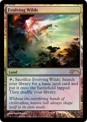 Evolving Wilds - Foil FNM 2012