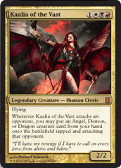Kaalia of the Vast - Foil on Channel Fireball