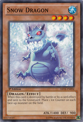 Snow Dragon - ABYR-EN094 - Common - 1st Edition