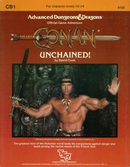 AD&D: CB1 Conan: Unchained! 9123