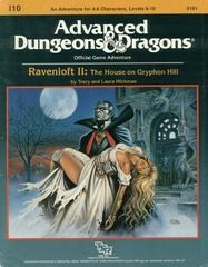 AD&D I10: Ravenloft II: The House on Gryphon Hill 9181