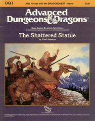 AD&D: DQ1 The Shattered Statue 9221