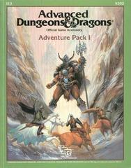 AD&D I 13: Adventure Pack I 9202