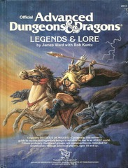 AD&D - Legends & Lore (1983) 2013 HC