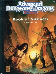AD&D 2e - Book of Artifacts 2138 HC