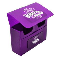 Purple Double Matte Deck Box (Monster)