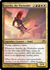 Aurelia, the Warleader on Channel Fireball