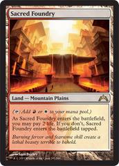 Sacred Foundry - Foil on Channel Fireball