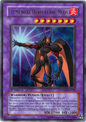Elemental Hero Flare Neos - POTD-EN032 - Ultra Rare - 1st Edition
