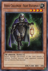 Heroic Challenger - Night Watchman - ABYR-EN009 - Common - Unlimited Edition