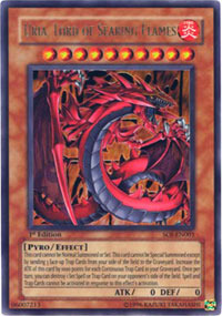 Uria, Lord of Searing Flames - SOI-EN001 - Ultra Rare - 1st Edition