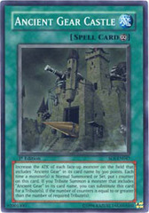 Ancient Gear Castle - SOI-EN047 - Super Rare - 1st Edition on Channel Fireball