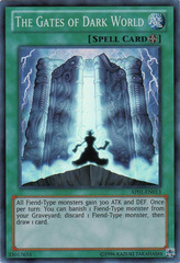 The Gates of Dark World - AP01-EN013 - Super Rare - Unlimited Edition on Channel Fireball