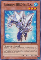 Elemental HERO Ice Edge - AP01-EN018 - Common - Unlimited Edition
