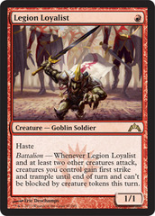 Legion Loyalist - Foil on Channel Fireball