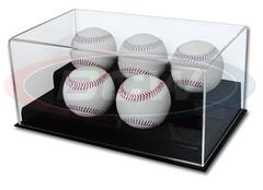 Deluxe Acrylic 5 Baseball Display