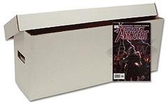 Long Comic Book Cardboard Storage Box