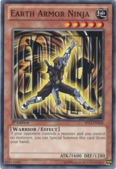 Earth Armor Ninja - SP13-EN018 - Common - 1st Edition on Channel Fireball