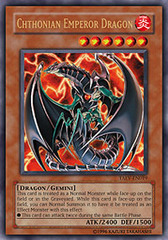 Chthonian Emperor Dragon - TAEV-EN019 - Ultra Rare - 1st Edition on Channel Fireball