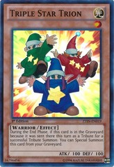 Triple Star Trion - ZTIN-EN019 - Super Rare - 1st Edition