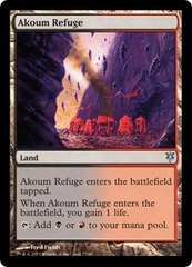 Akoum Refuge on Channel Fireball