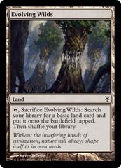 Evolving Wilds on Channel Fireball