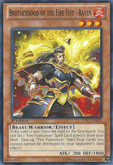 Brotherhood of the Fire Fist - Raven - CBLZ-EN022 - Common - Unlimited Edition