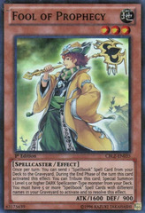 Fool of Prophecy - CBLZ-EN035 - Super Rare - Unlimited Edition