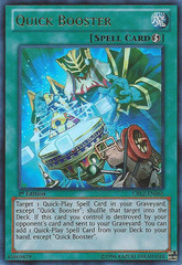 Quick Booster - CBLZ-EN065 - Ultra Rare - Unlimited Edition