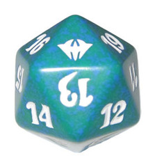 Magic Spindown Die - Dark Ascension Green
