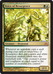 Voice of Resurgence - Foil