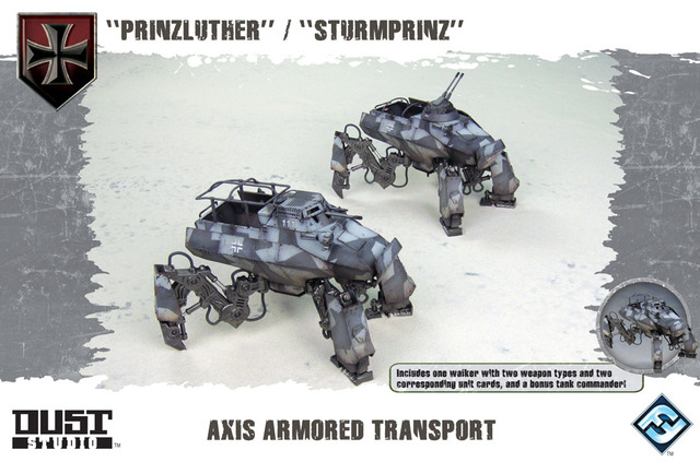 Dust Tactics: Axis Armored Transport -