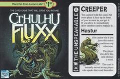 Cthulhu Fluxx Hastur promo card