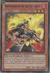 Brotherhood of the Fire Fist - Raven - AP02-EN009 - Super Rare - Unlimited on Channel Fireball