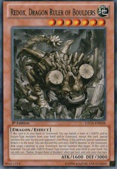 Redox, Dragon Ruler of Boulders - LTGY-EN038 - Rare - 1st