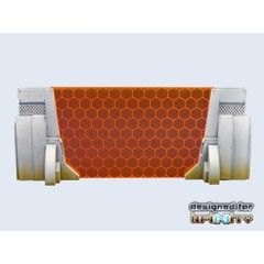 Concrete Wall Gate (1) (T00046)
