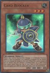 Card Blocker - LCGX-EN044 - Ultra Rare - Unlimited Edition