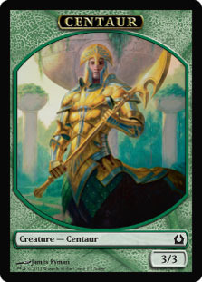 Centaur Token - Return to Ravnica (Prerelease Judge Promo)