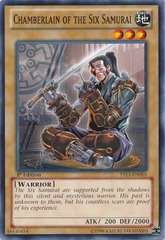 Chamberlain of the Six Samurai - YS13-EN005 - Common - 1st Edition on Channel Fireball
