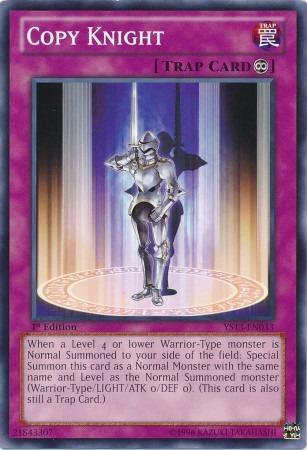 Copy Knight - YS13-EN033 - Common - 1st Edition
