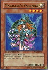 Magician's Valkyria - SDSC-ENSE1 - Ultra Rare - Limited Edition on Channel Fireball