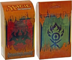 Dragon's Maze Prerelease Kit - Rakdos/Gruul