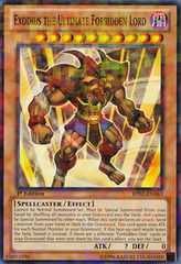 Exodius the Ultimate Forbidden Lord - BP02-EN063 - Mosaic Rare - 1st